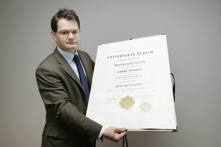 Diploma de Einstein