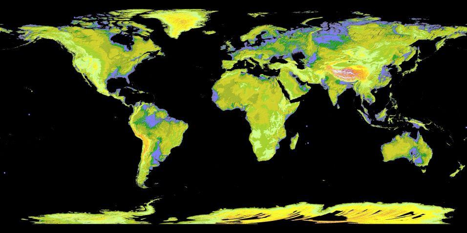 Mapa topográfico digital