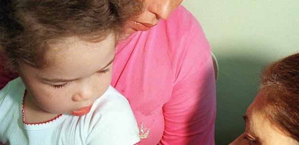 Crianças pequenas não vacinadas são o grupo que corre mais risco - Guilherme Maranhão/Folha Imagem - 16.08.1997