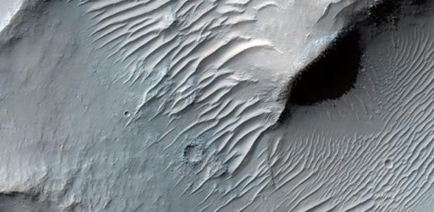 As dunas nos vales Samara, uma das regiões sugeridas por internautas; veja o álbum