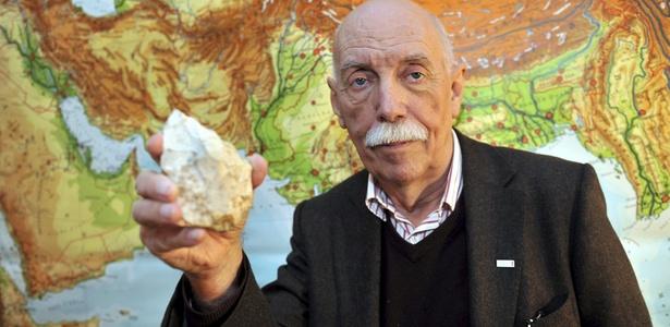 O pesquisador Hans-Peter Uerpmann, pesquisador que liderou o estudo; veja no álbum