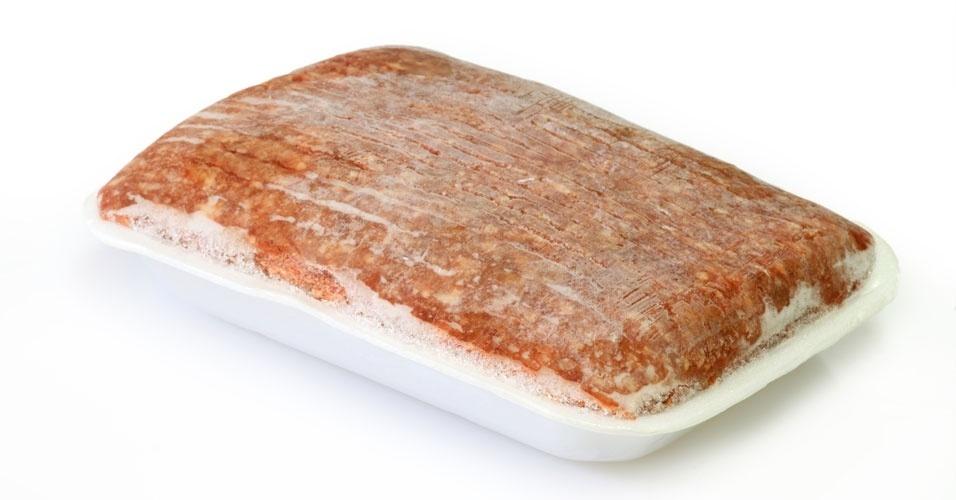 Carne congelada, ceia de natal