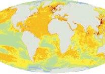 As áreas em vermelho são as mais afetadas; as alaranjadas são de impacto elevado
